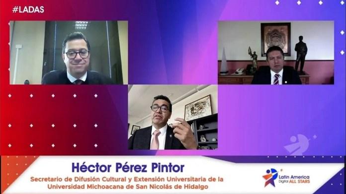 #LADAS | El Rector de la UMSNH, Dr. Raúl Cárdenas Navarro inauguró el encuentro virtual