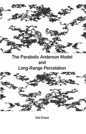 The parabolic Anderson model and long-range percolation