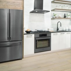 Kitchen Set Home Depot Outdoor 5 Reasons To Get A Black Stainless Steel From Bosch