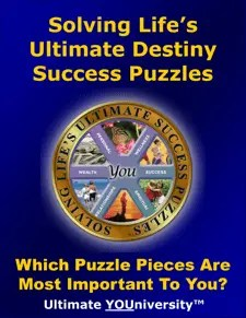 Ultimate YOUniversity Solving Life's Ultimate Success Puzzles