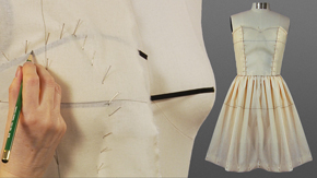 Draping howto videos  University of Fashion