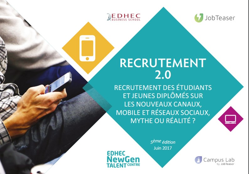 Etude Jobteaser – EDHEC NewGen Talent Centre - 1