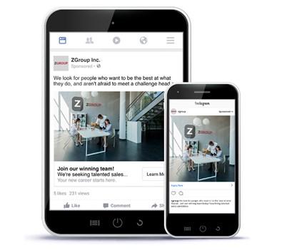 Avec Social Job Ads sur Instagram et Social Brand Campaigns, l'offre sociale de Monster gagne en puissance