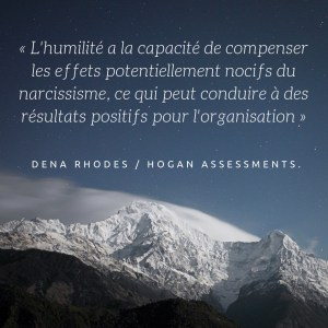 humilité - leadership -Hogan