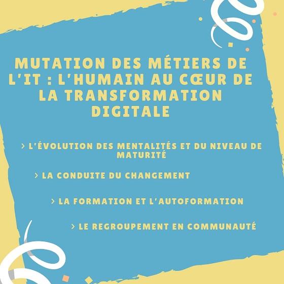 Mutation des Métiers de l'IT _ L'Humain au cœur de la transformation digitale