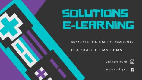 Creation de solutions E-learning-universityrh