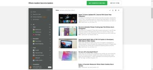 feedly-homepage