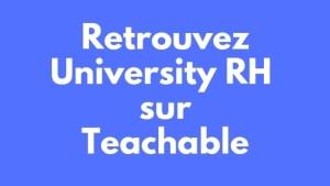 retrouvez universityrh sur teachable