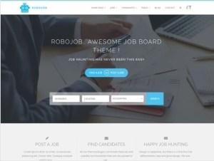 Créer un site RH ou site Carrières avec WordPress : RoboJob Lite