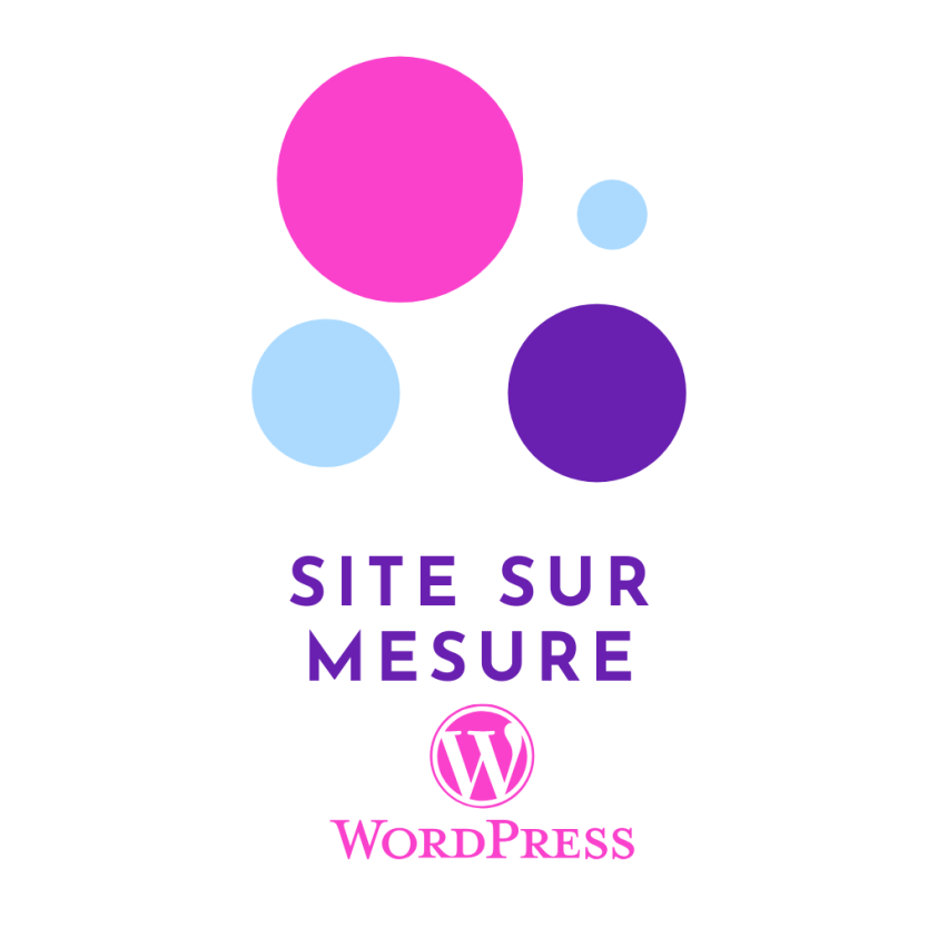 site sur mesure WordPress