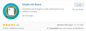 Simple Job Board de PressTigers