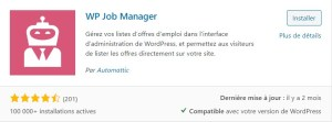 Créer un site RH ou site Carrières avec WordPress : wp job manager
