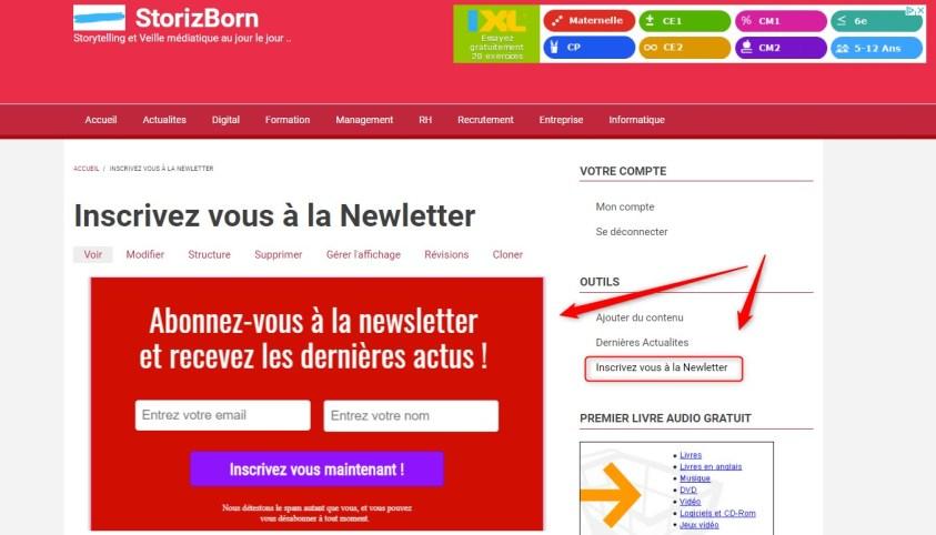 tunnel de vente - newsletter -03