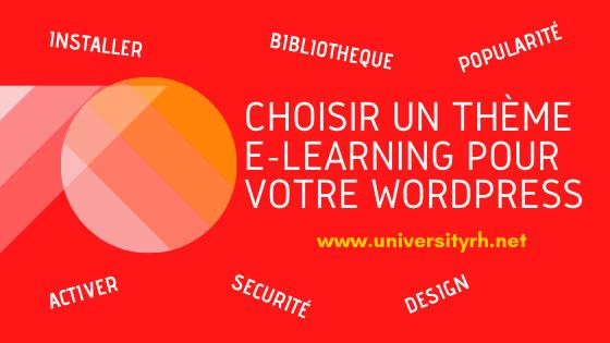 Choisir un thème E-learning pour votre site WordPress le Guide complet