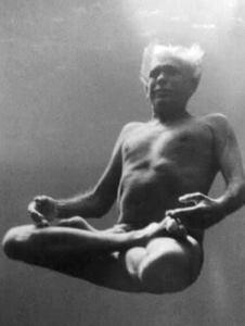 yoga nel blu