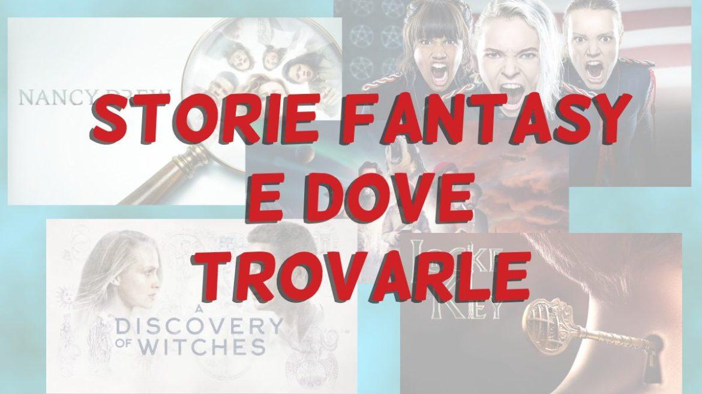 Storie Fantasy-copertina