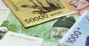 denaro corea del sud