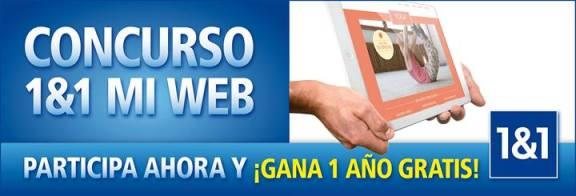 1&1 Mi Web Concurso