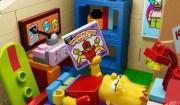 Bart Lego legge