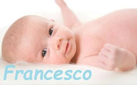 bimbo e nome Francesco