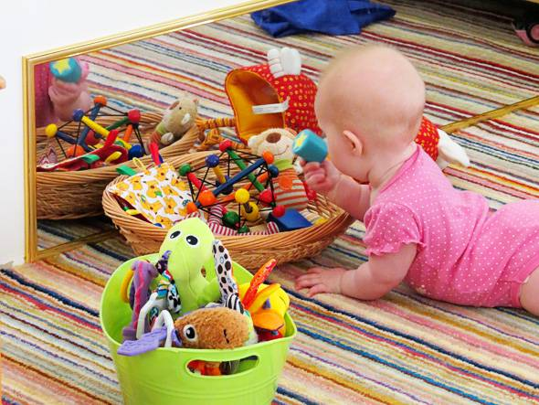 Tappeto Morbido Per Gattonare : Bambini e gioco consigli per creare uno spazio dedicato