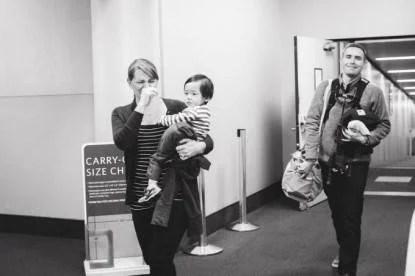famiglia con bimba adottiva