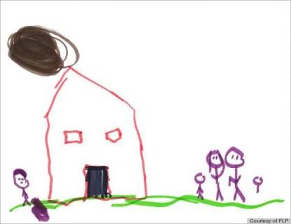 disegno famiglia disfunzionale