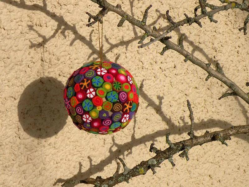 "Palle di Natale ""fai da te"": 15 semplici idee (FOTO)"