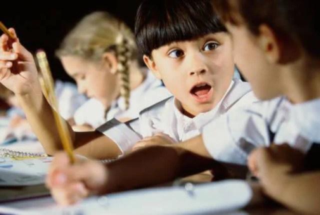 -bambini a scuola