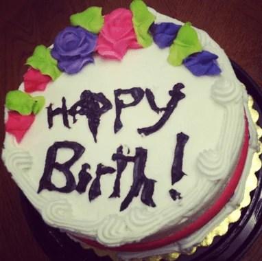 nascita torta