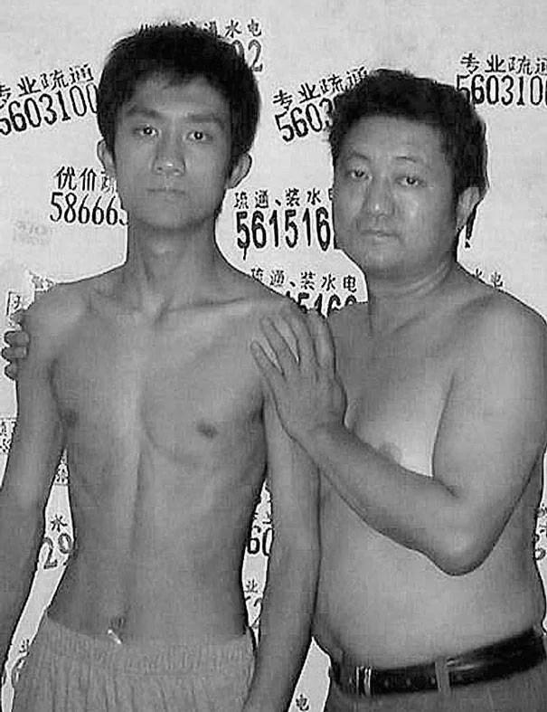 papà e figlio 2003