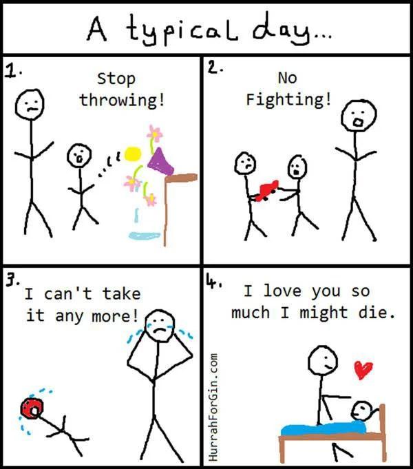 vignette sull'essere mamma