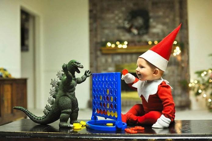 elfo gioca