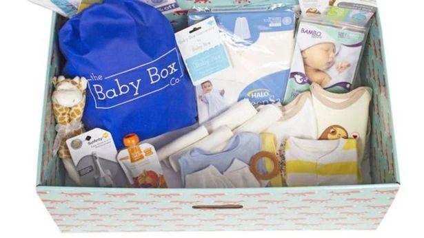 scatole di cartone per bambini