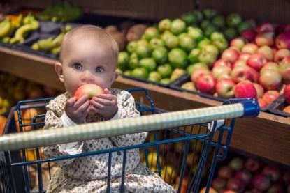 Bambini e cibo piacere