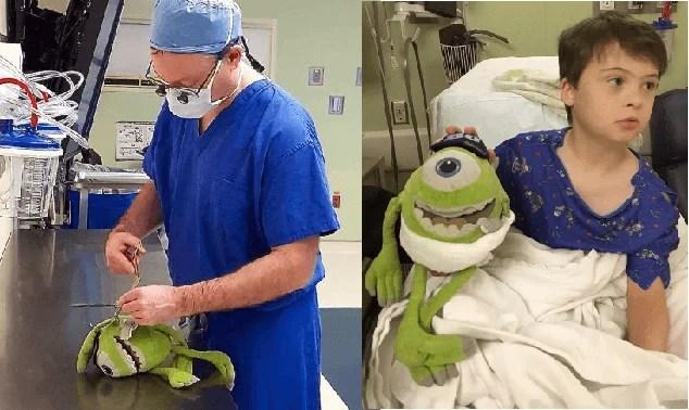 medico opera pupazzi