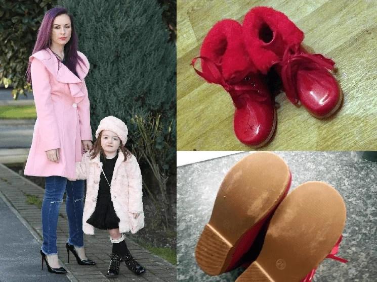 Mamma chiede 375 Euro a un'amica per le scarpe rovinate della figlia di 3 anni