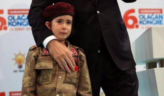Erdogan definisce una bimba di 6 anni futura