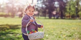 caccia la tesoro uova pasqua 2018 con i bambini