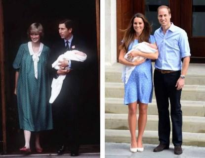 Kate Middleton parto George