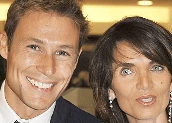 Massimiliano Ossini e la moglie