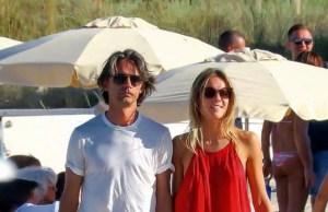 Angela Robusti e Pippo Inzaghi