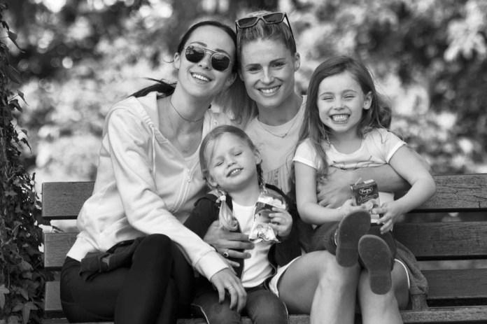 Michelle Hunziker figlie