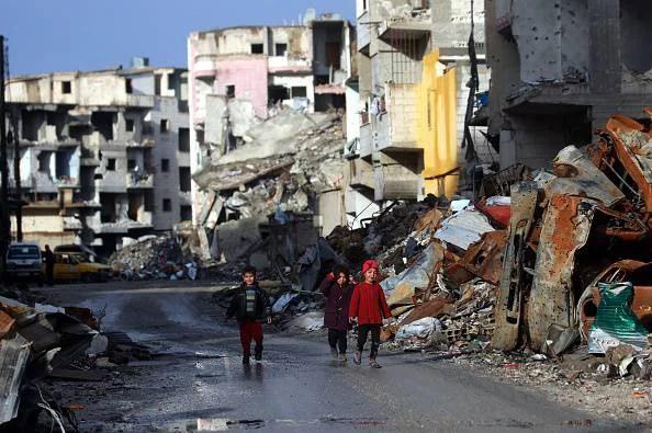 bambini ostaggio dell'ISIS