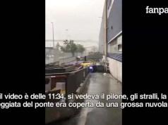 Crollo ponte Morandi testimonianza di Claudia Grottin