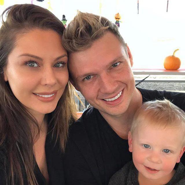 Nick, Lauren e il piccolo Odin