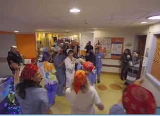 flash mob meyer bambini malati