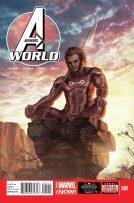 Portada de Avengers World #5