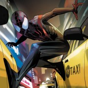 Portada alternativa de Staples para Miles Morales: Ultimate Spider-Man #1