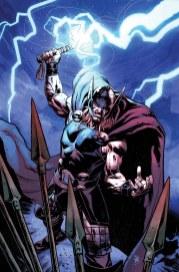 Portada alternativa obra de Klein para Thor: God of Thunder #20